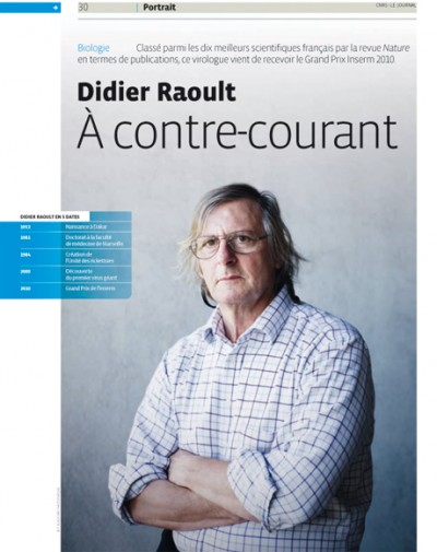 gr u00e9gory fl u00c9chet  u00bb didier raoult   u00c0 contre courant